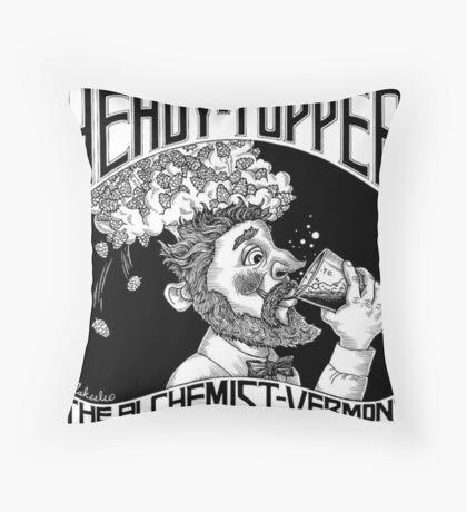 HEADY TOPPER Shirt Throw Pillow