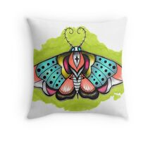 moth. Throw Pillow