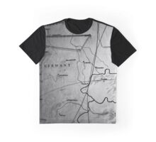 Map Of Germany - American Airpower Museum | Farmingdale, New York Graphic T-Shirt