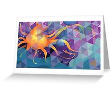 Abstract Octopus Greeting Card