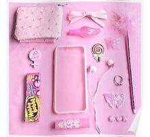 Pink Babygirl Essentials Poster