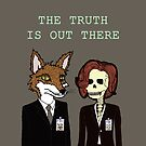 Mulder and Scully by Michowl