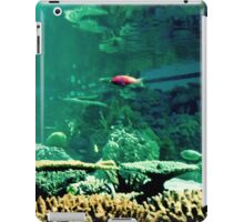 Little Fish in a Big Blue World iPad Case/Skin