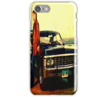 supernatural tv dean baby impala fan art iPhone Case/Skin