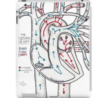 Bloodflow Chart iPad Case/Skin