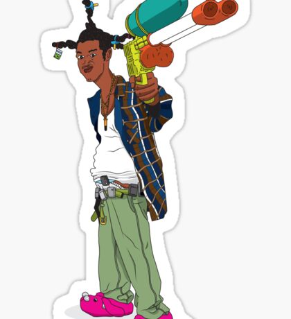 Loc Dog Sticker
