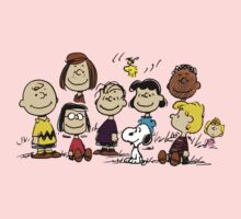 All Peanuts Together Baby Tee