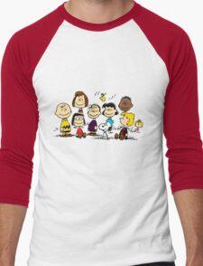 All Peanuts Together Men's Baseball ¾ T-Shirt