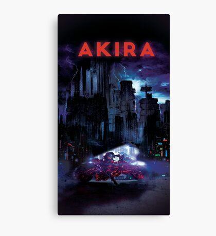 Akira Poster Canvas Print