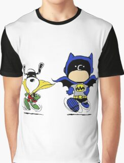 Superheroes Peanuts Graphic T-Shirt