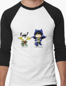 Superheroes Peanuts Men's Baseball ¾ T-Shirt