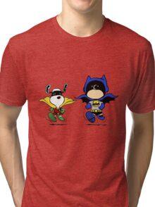 Superheroes Peanuts Tri-blend T-Shirt