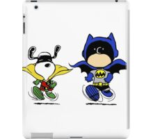 Superheroes Peanuts iPad Case/Skin