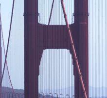 Golden Gate Afternoon Sticker