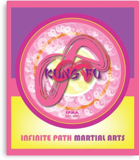 Infinite Path Martial Arts - Mandala - Pink by Infinite Path  Creations