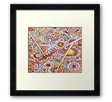 the natural look Framed Print