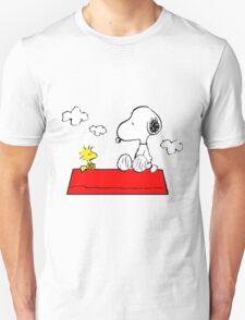 Snoopy & Woodstock Unisex T-Shirt