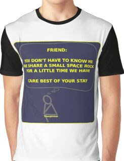 Thought Man - Friend 2 Graphic T-Shirt
