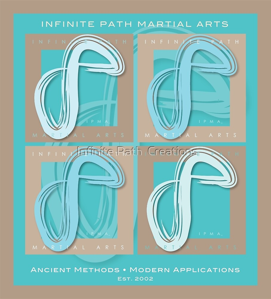 Infinite Path Martial Arts - Logo Panel (2013) by Infinite Path  Creations