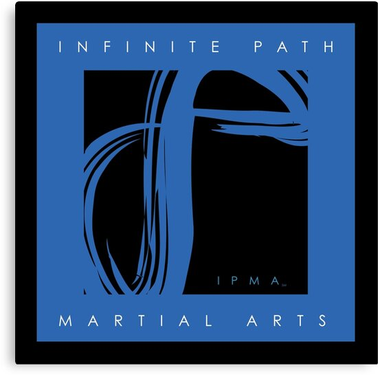 I.P.M.A. Logo - Blue by Infinite Path  Creations