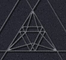 TRIANGLE INTERSECTION Sticker