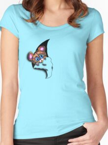 Poody Women's Fitted Scoop T-Shirt