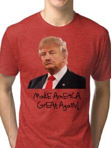 Donald Trump Derp Meme ''Make America Great Again!'' Tri-blend T-Shirt
