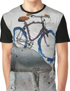 Paper Bicycle Graphic T-Shirt