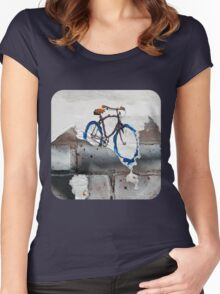 Paper Bicycle Women's Fitted Scoop T-Shirt