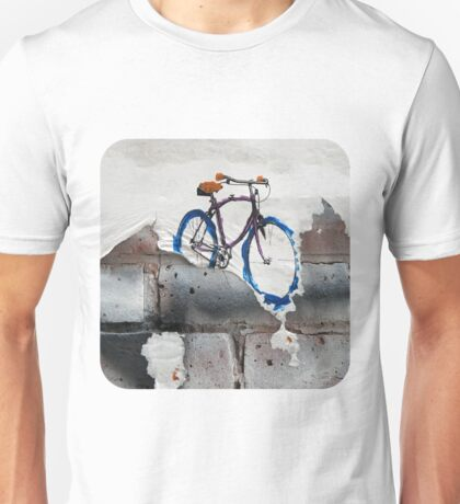 Paper Bicycle Unisex T-Shirt