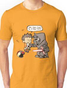 Beautiful Calvin And Hobbes Unisex T-Shirt
