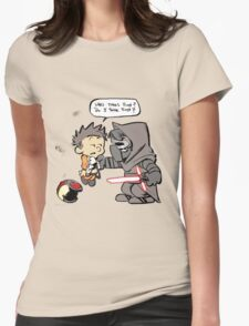 Beautiful Calvin And Hobbes Womens Fitted T-Shirt
