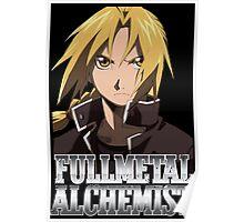Edward Elric Fullmetal Alchemist Anime Poster