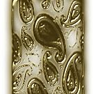 Gold pattern I phone Case (1138 views) by aldona