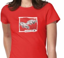 Left Car Right Car Womens Fitted T-Shirt