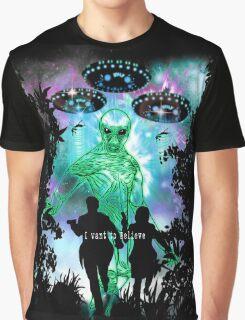 The X-Files Alien Invasion Graphic T-Shirt