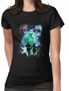 The X-Files Alien Invasion Womens Fitted T-Shirt