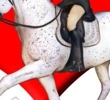 Dressage Rider Sticker