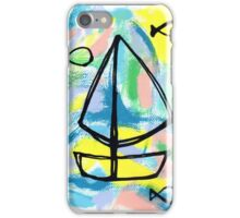 Let's Sail and See the World! iPhone Case/Skin