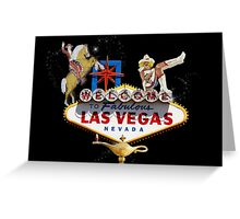 Las Vegas Welcome Sign Greeting Card