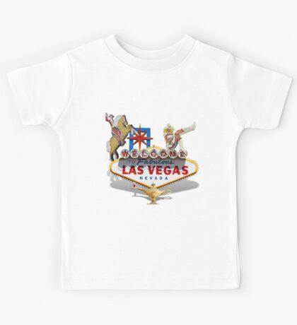 Las Vegas Welcome Sign Kids Tee