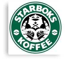 Starboks Koffee Canvas Print