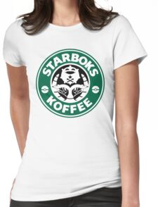 Starboks Koffee Womens Fitted T-Shirt