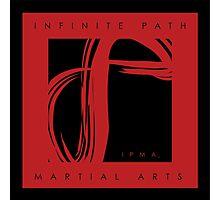 Infinite Path Martial Arts Logo - Red (2001) Photographic Print