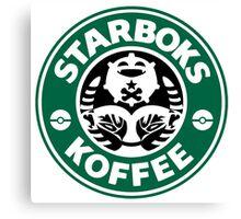 Starboks Koffee 2.0 Canvas Print