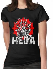 The 100 Lexa Symbol - Heda Womens Fitted T-Shirt