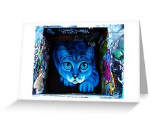 Hosier Lane Cat Greeting Card