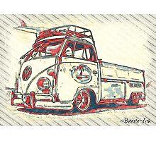 Surf Bus Photographic Print