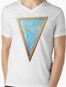 Turquoise Arrowhead Mens V-Neck T-Shirt