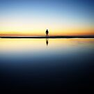 Twilight solitude on Moreton Island by Keiran Lusk